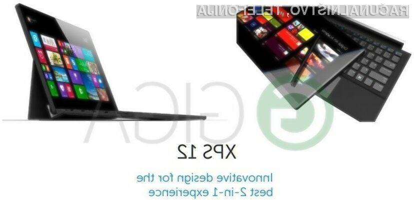 Tablica Dell XPS 12 naj bi se zlahka zoperstavila iPadu Pro!
