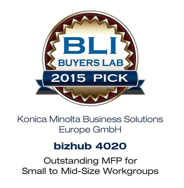 BLI nagrada za bizhub 4020
