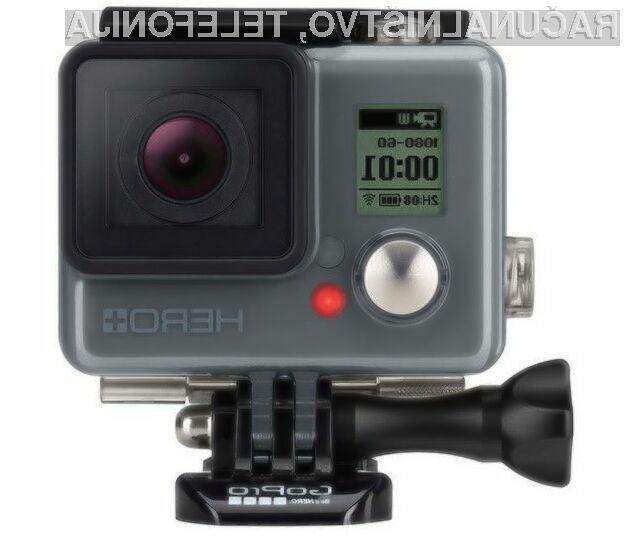 Brezžični GoPro Hero + za relativno malo denarja ponuja veliko.