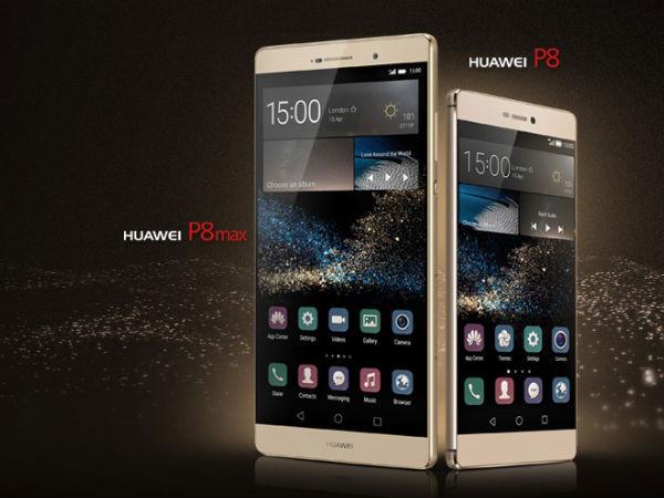 6,2-inčna različica paradnega Huawei P8 z dvakrat zmogljivejšo baterijo