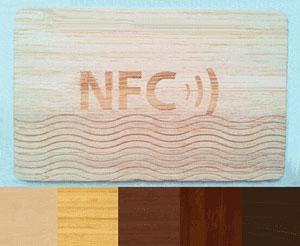 Brezstične kartice so lahko tudi v leseni preobleki.