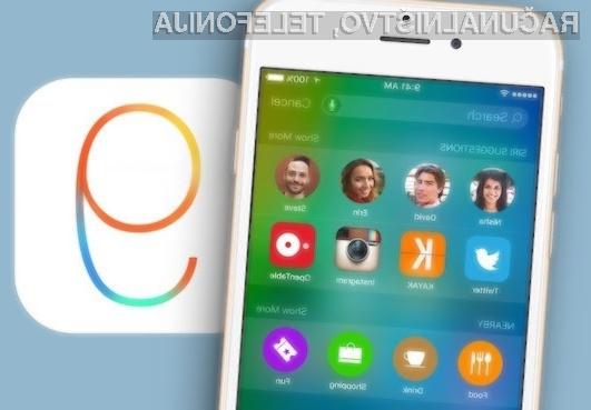 Mobilni operacijski sistem Apple iOS 9 bo prinesel pomembne izboljšave!