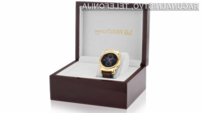 Pametno ročno uro LG Watch Urban Luxe bo lahko kupilo le 500 srečnežev!