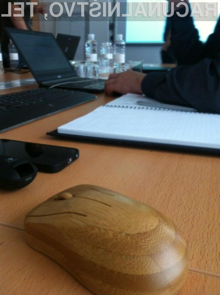 Naravna računalniška oprema za dom in pisarno iz bambusa