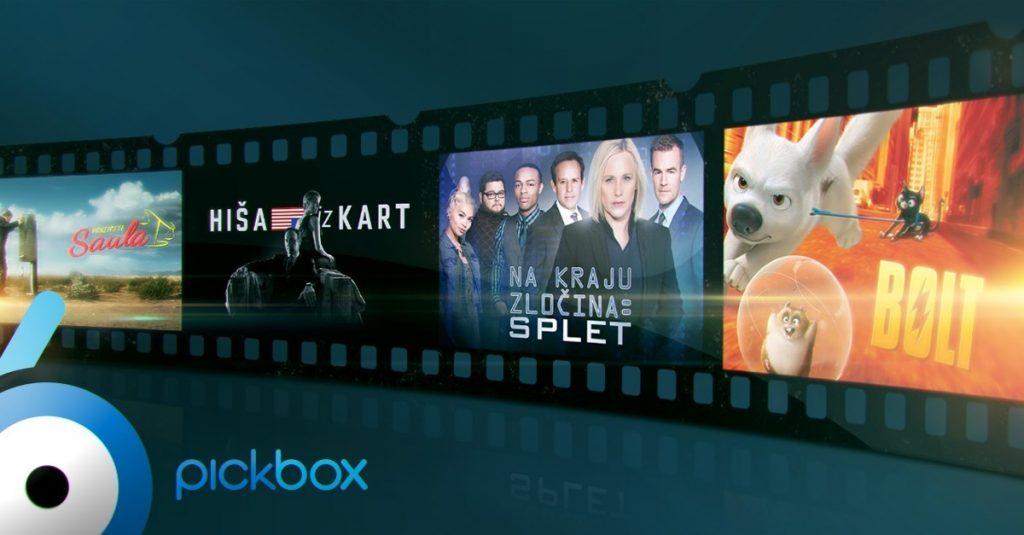 Telekom Slovenije naročnikom SiOL TV omogoča ogled filmov in serij ponudnika Pickbox