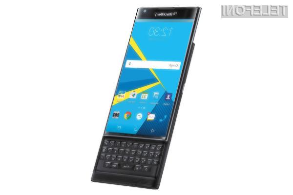 BlackBerry bo poslovne uporabnike storitev mobilne telefonije poskušal prepričati z Androidom!