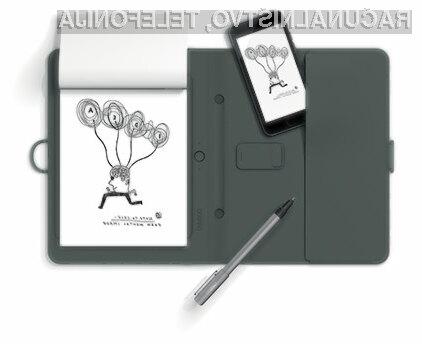 Digitalna beležnica Wacom Bamboo Spark združuje klasiko in moderno tehnologijo!