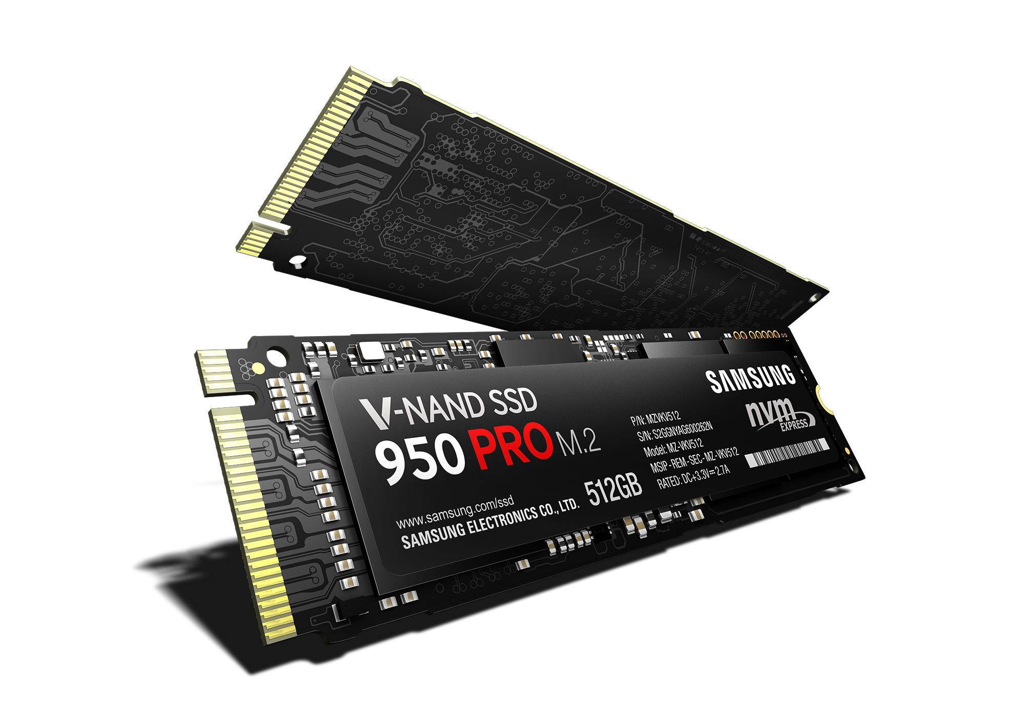 Pogon Solid State Samsung 950 Pro nas nikoli ne bo pustil na cedilu!