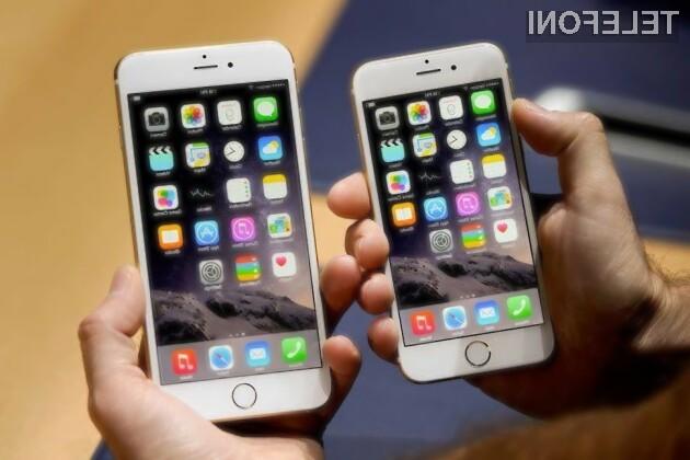 Mobilniki iPhone 6S s procesorjem Samsung naj bi bili nekoliko slabši.