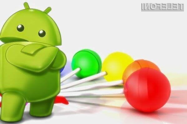 Lollipop na 23,5 odstotkih mobilnih naprav