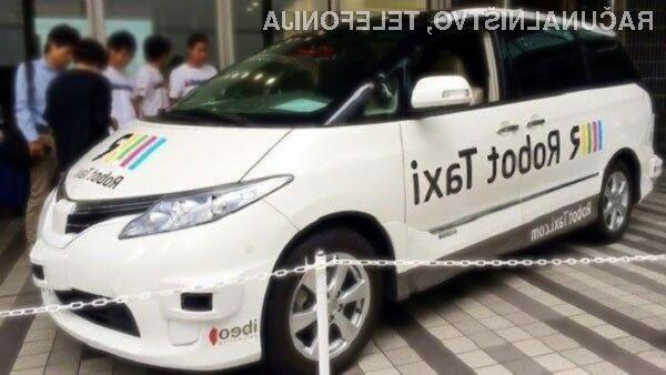 Japonska kmalu s samovozečimi taksiji!