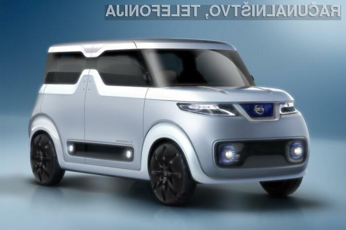 Nissan z avtomobilom za tehnološke fanatike