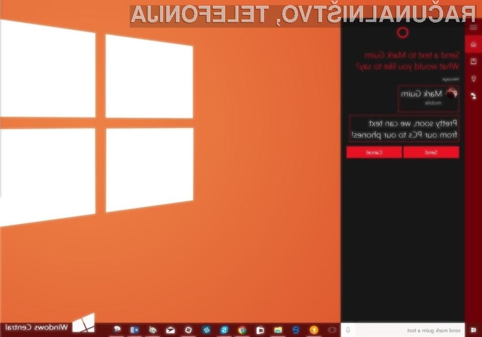 Novi sporočilni sistem operacijskega sistema Windows 10 je enostaven za uporabo in všečen na pogled.