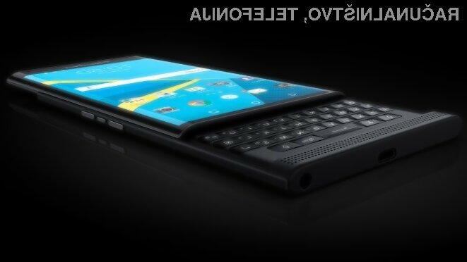 Mobilnik BlackBerry Priv z Androidom obeta veliko!