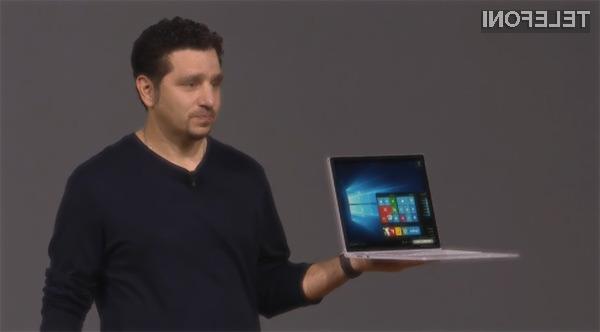 Microsoft Surface Book je kar dvakrat zmogljivejši v primerjavi z Applovim kompaktnim prenosnikom MacBook Pro!