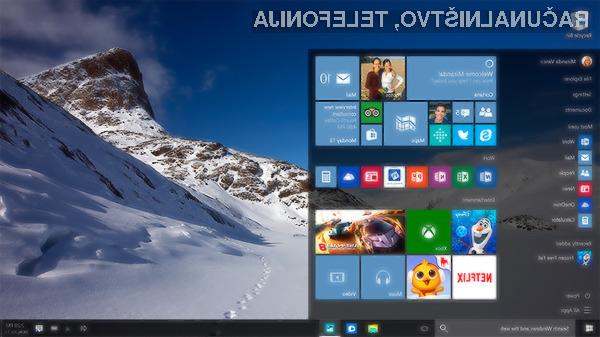 Microsoft neprestano izboljšuje in dopolnjuje Windows 10!