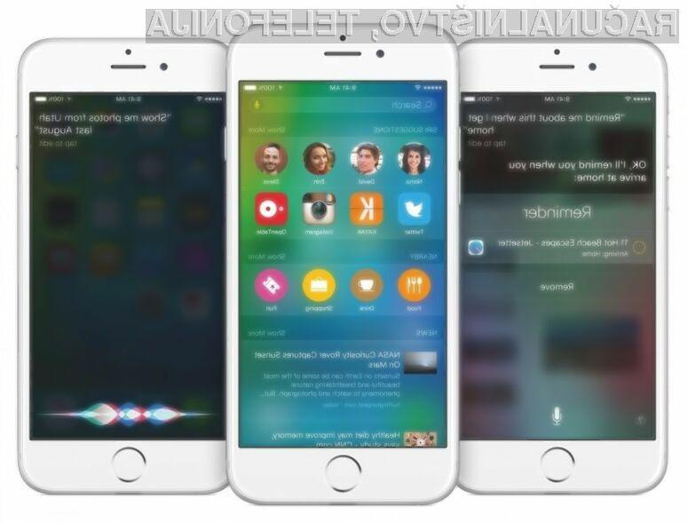 Posodobitev iOS 9.0.2 naj bi bila relativno varna za uporabo!