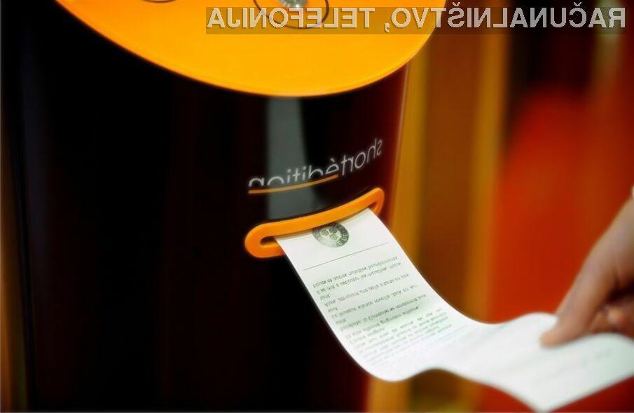 Obiskovalci francoskega mesta Grenoble bodo zaslone mobilnih naprav nadomestili z lističi s kratkimi zgodbami!