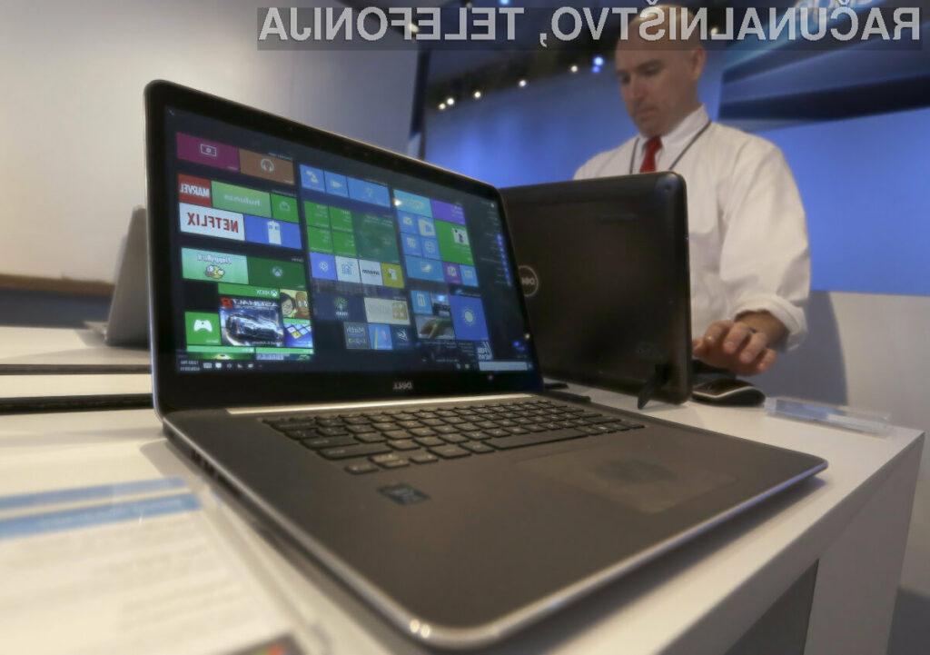 Novi osebni računalniki s sistemom Windows 10 še vedno ne prepričajo!