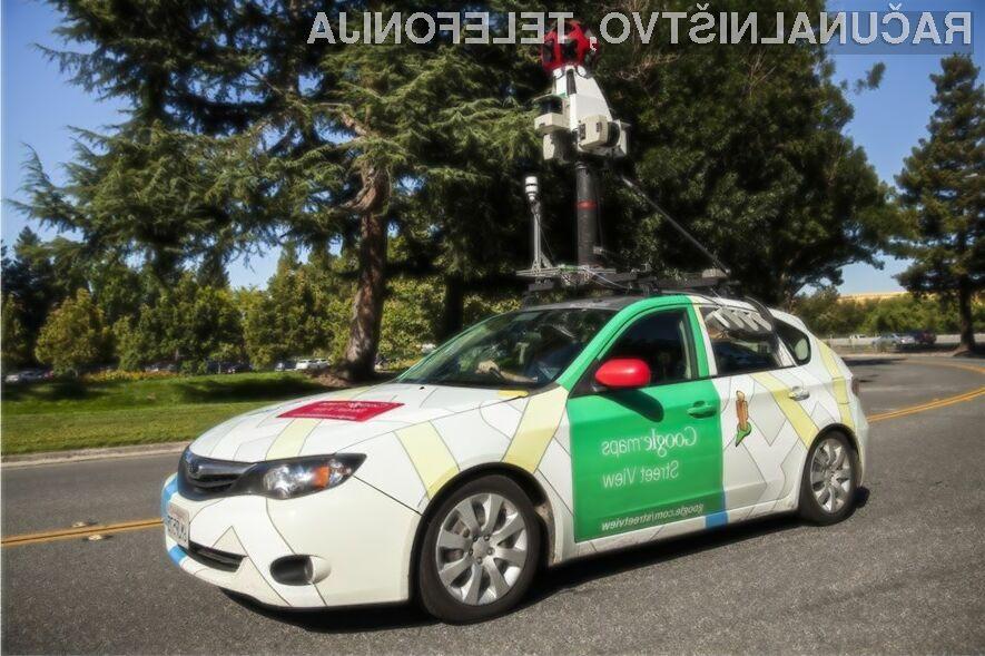 Avtomobili podjetja Google odslej merijo tudi onesnaženost zraka!