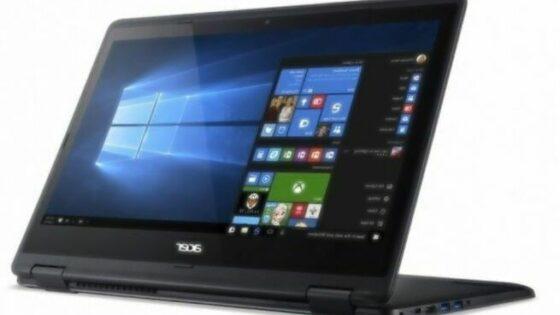 Novi Acer Aspire R14 bo kot nalašč za delo na terenu.