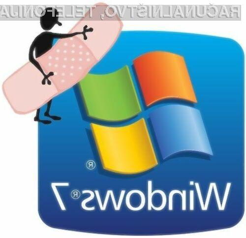 Microsoft se je za napako s popravkom že javno opravičil uporabnikom Windowsa 7!