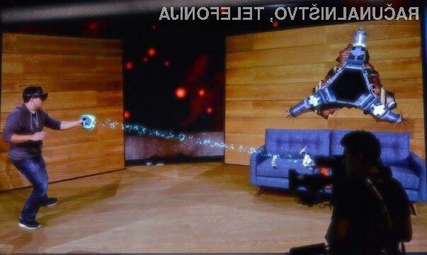 Microsoftova očala za navidezno resničnost HoloLens nas bodo takoj prevzela.