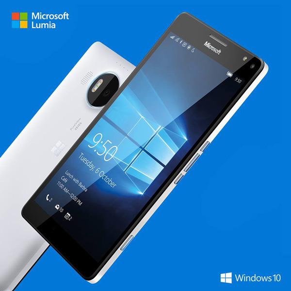 Microsoft Lumia 950 z vodnim hlajenjem!