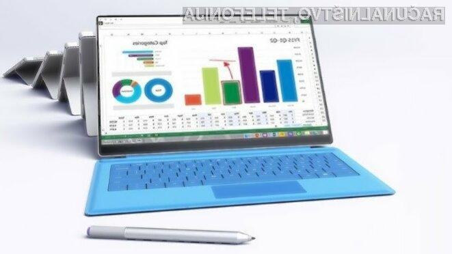 Novi Microsoft Surface Pro 4 z zaslonom brez robov?