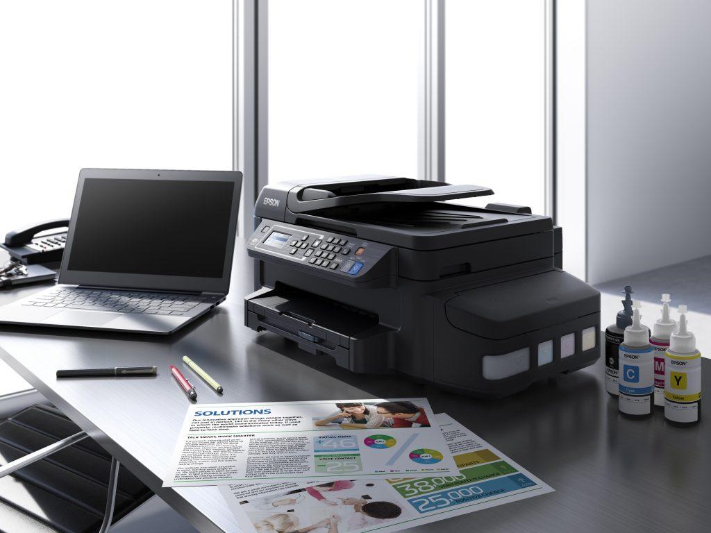 Nova Epsonova večnamenska naprava s sistemom posod s črnilom in možnostjo samodejnega obojestranskega tiskanja