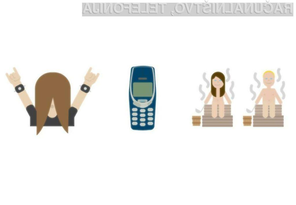 Finska se bo svetu predstavljala s čustvenimi simboli golega moškega in ženske v savni, mobilnika Nokia 3310 in ljubitelja »metalne« glasbe.