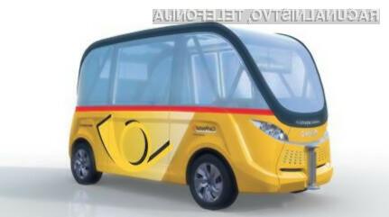 Švicarji z avtobusom, ki bo revolucioniral javni prevoz