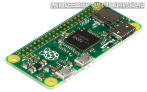 Raspberry Pi Zero: Osebni računalnik za slabih 5 evrov!