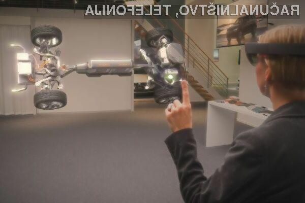 Navidezna očala Microsoft HoloLens se odlično prilegajo avtomobilski industriji!