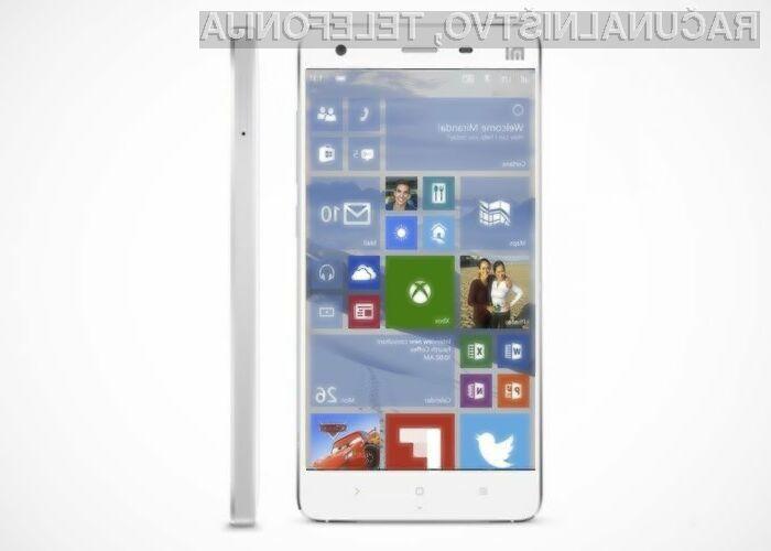 Mobilni operacijski sistem Windows 10 se odlično prilega mobilniku Xiaomi Mi4.