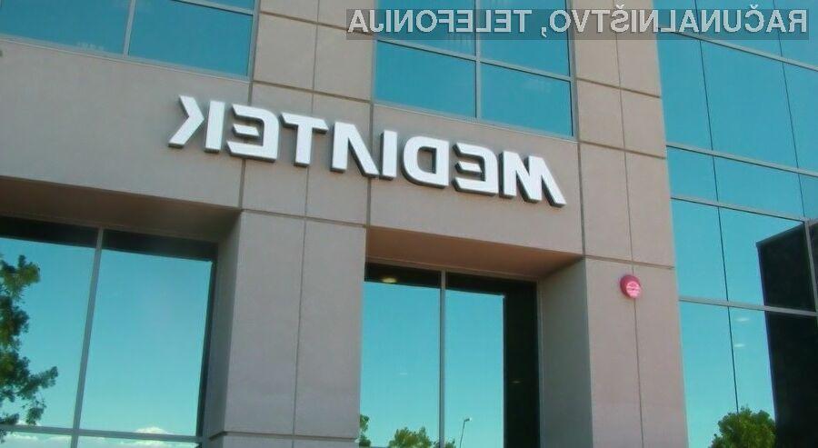 Procesorji MediaTek med proizvajalci mobilnih naprav postajajo iz leta v leto bolj priljubljeni.