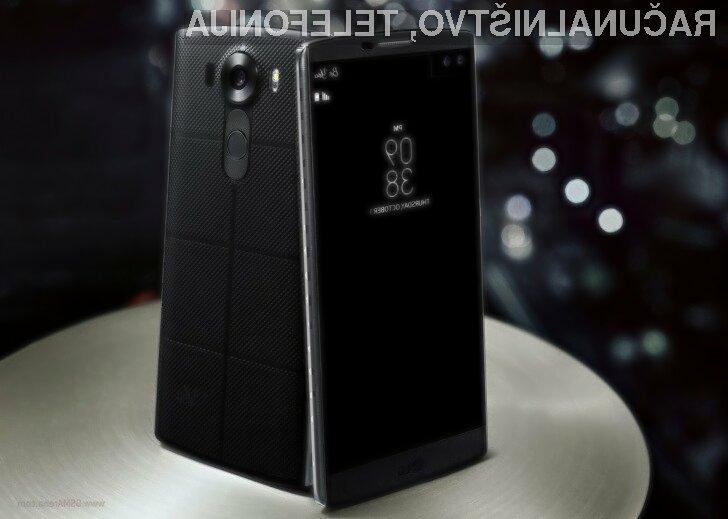 Pametni telefon LG V10 z dvema zaslonoma se vam bo zagotovo zlahka prikupil.