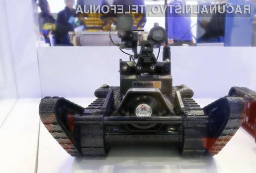 Kitajska vojska bo mir zagotavljala tudi z roboti.