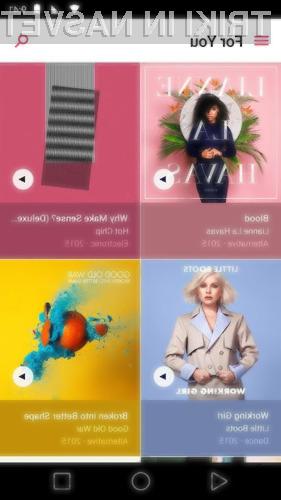 Apple Music za Android navdušuje v vseh pogledih.