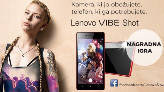 Lenovo nagradna igra VIBE Shot