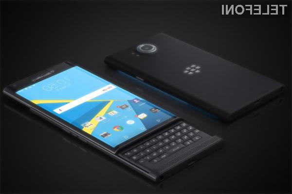 BlackBerry varuje podatke