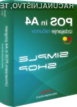 Brezplačno različico lahko prenesete s spletne strani www.simple-shop.si.
