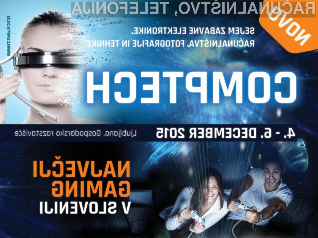Še dva tedna do sejma sodobnih tehnologij COMPTECH in največjega GAMINGA v Sloveniji!