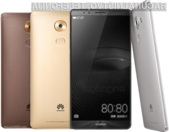 Huawei Mate 8: Prava generalska ladja