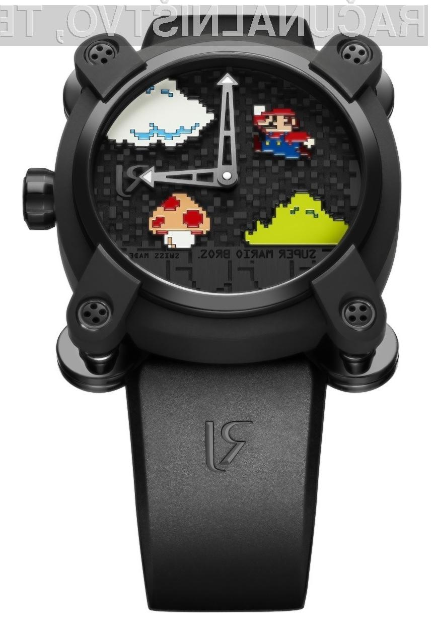 Ročna ura Super Mario Bros je bila pripravljena za obeležitev 30. letnice legendarne igre.