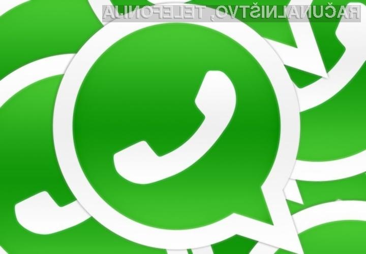 Angleška zunanja ministrica nad WhatsApp