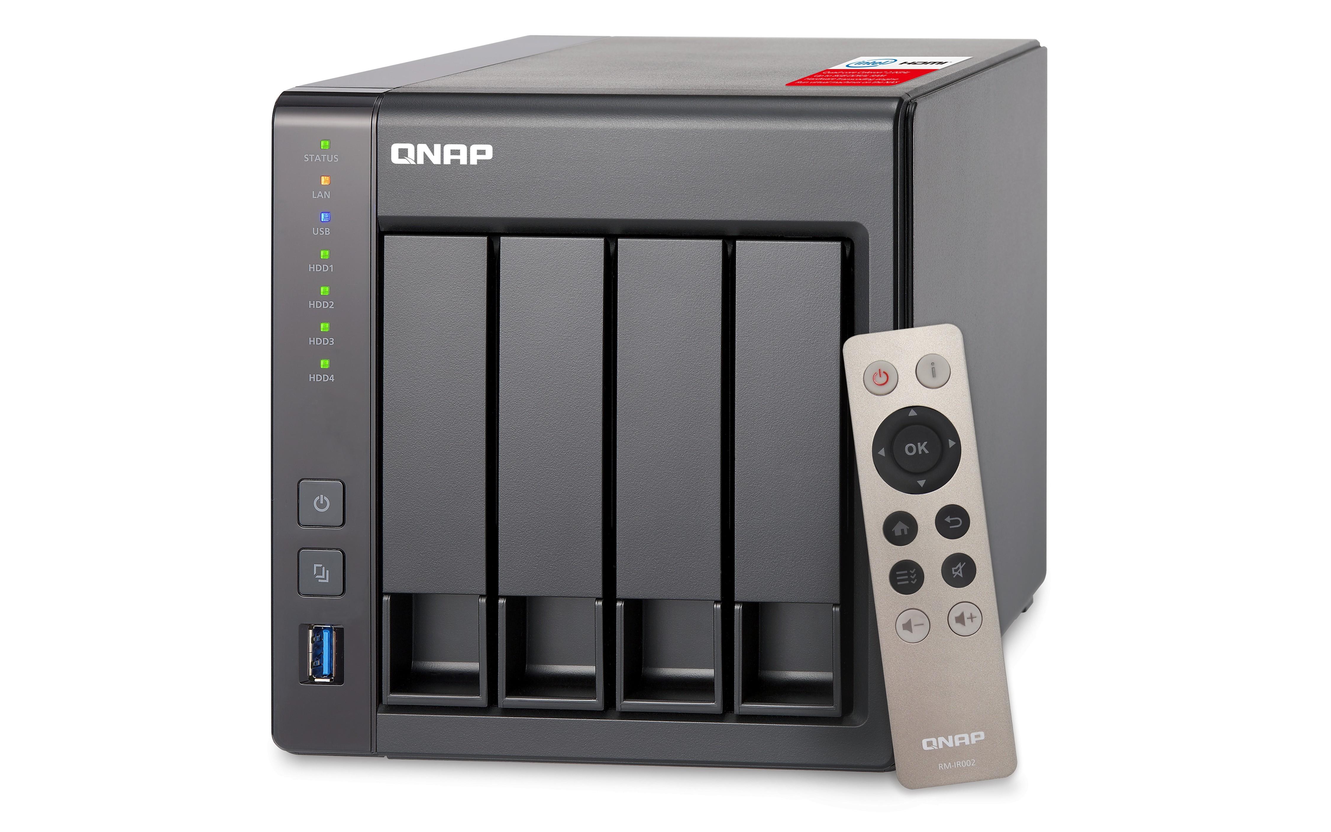 Novi TS-451+ omogoča hitrejše shranjevanje po mreži in uporabo virtualizacije.