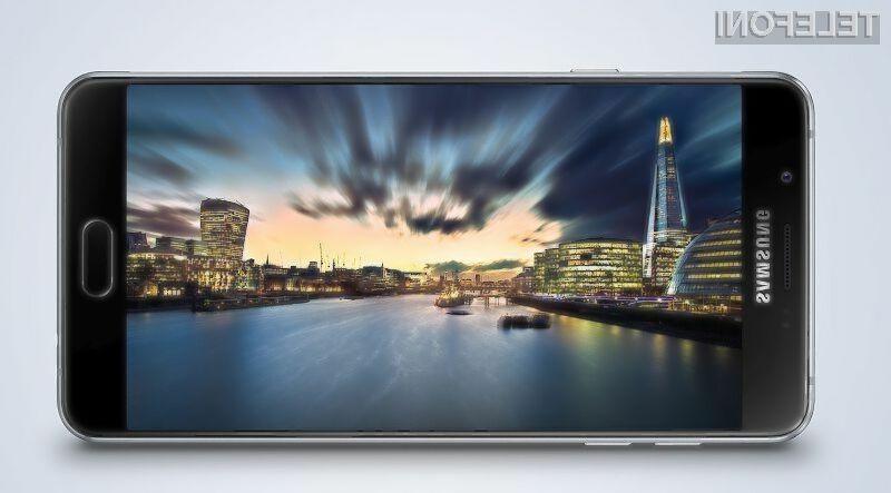 Mobilni telefon Samsung Galaxy A9 naj bi prepričal predvsem z dolgo avtonomijo delovanja!