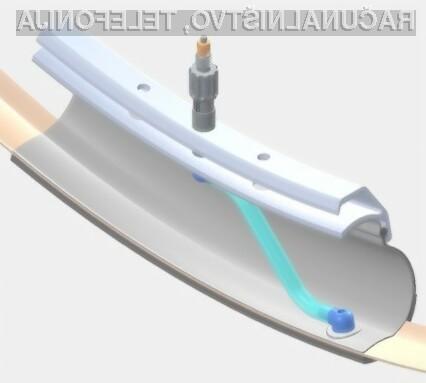 PumpTube bo poskrbel da bo tlak v zračnicah vedno optimalen!