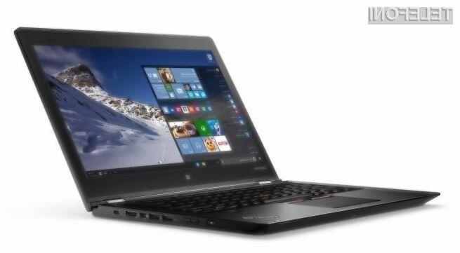 Lenovo ThinkPad P40 Yoga združuje zmogljivost prenosnika in praktičnost tablice!